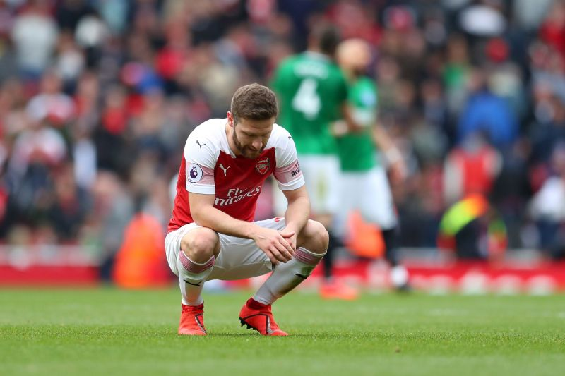 Shkodran Mustafi has had his fair share of struggles at Arsenal