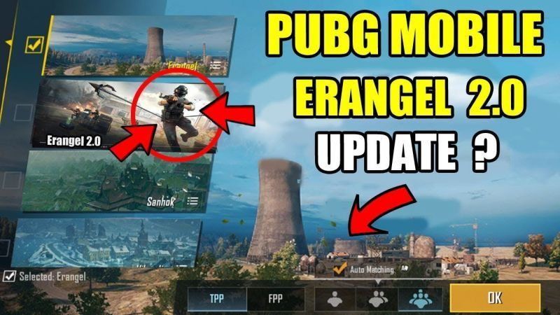 PUBG Mobile Erangel 2.0 Update Download (Image Credits: software hindi)