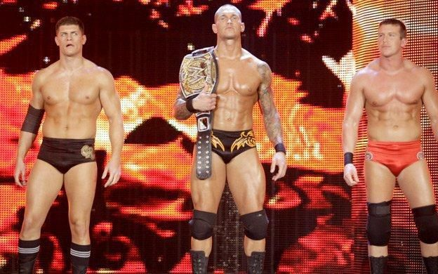 Cody Rhodes, Randy Orton, and Ted Dibiase Jr.- The Legacy