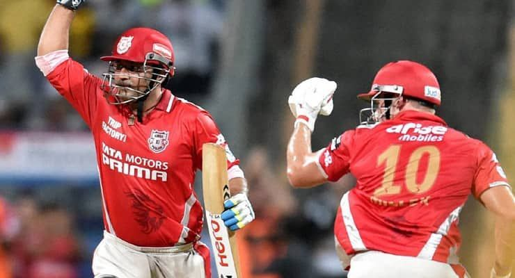 Virender Sehwag scored a breathtaking 122 off 58 balls in Qualifier 2 against Chennai Super Kings.