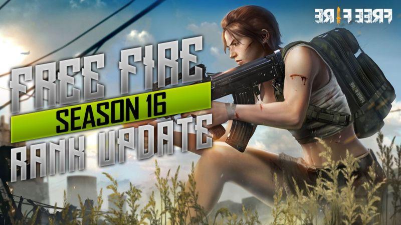 Free Fire rank Season 16 update Free Fire Season 16 release date