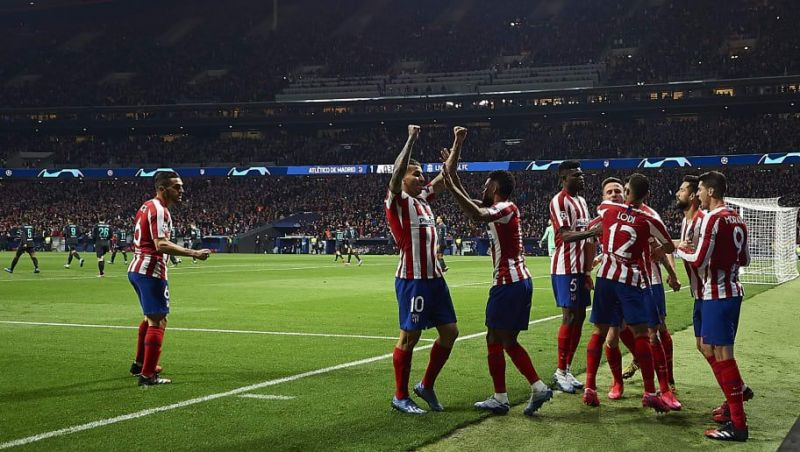 Atletico Madrid beat defending champions Liverpool to claim a spot in the UCL quarter-final