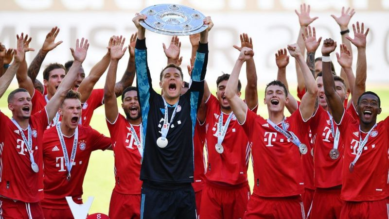 Bayern Munich won their eighth consecutive Bundesliga title in 2019-20.