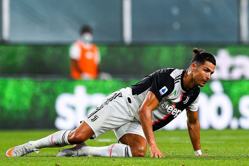 Cristiano Ronaldo scored the second goal for Juventus against Genoa