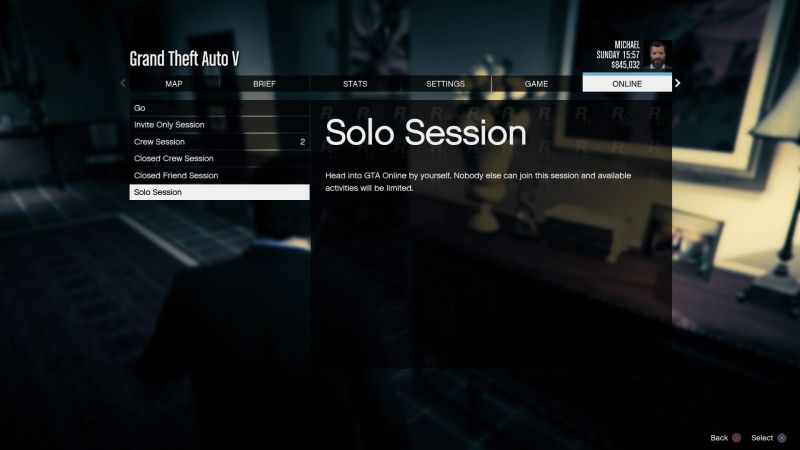 GTA Online Solo Session