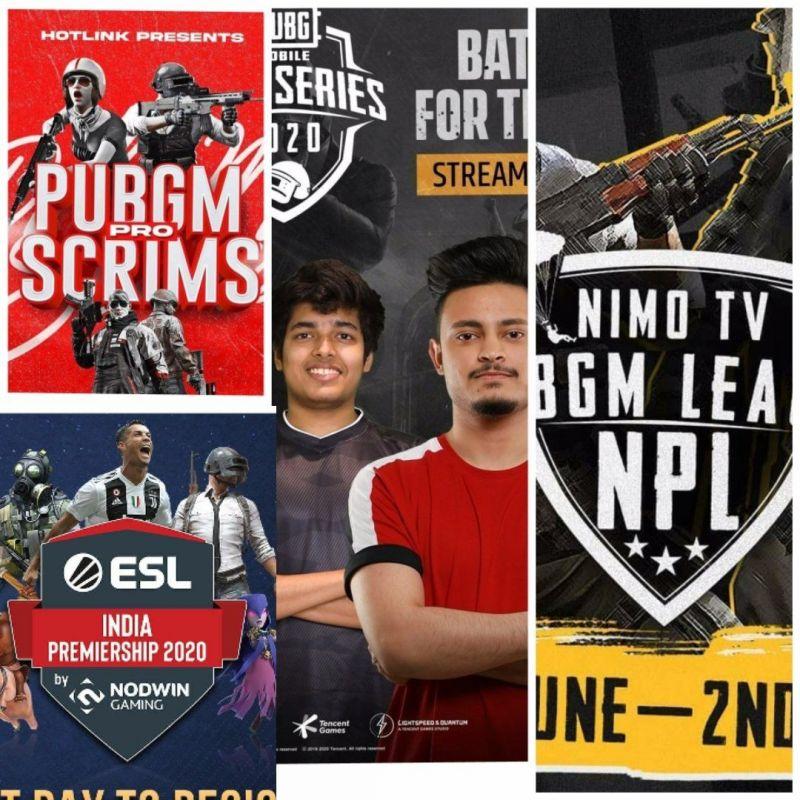 PUBG Mobile tournaments