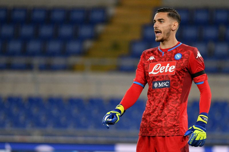 Meret helped Napoli win the TIM Cup on penalties