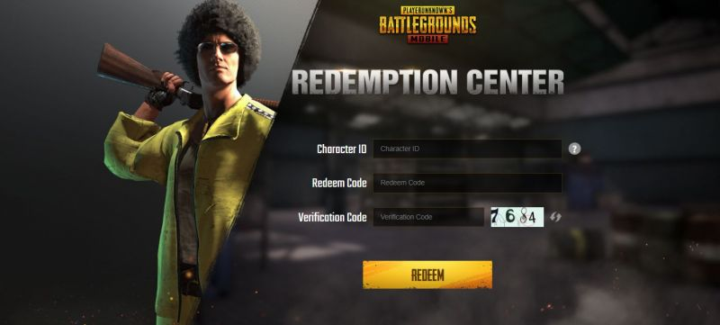 How to use redeem codes in PUBG Mobile (Image Source: PUBG Mobile website)