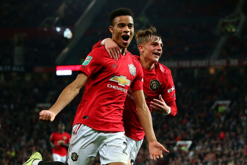 Ole Gunnar Solskjaer has given game time to young players at Manchester United