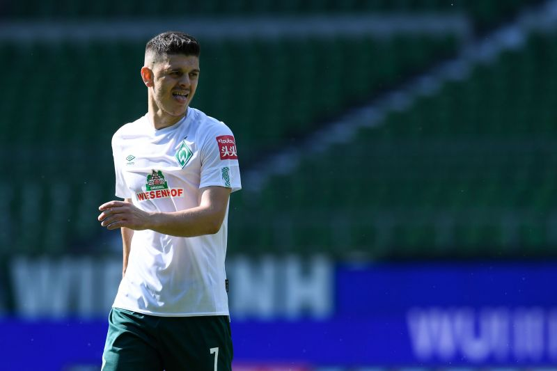Milot Rashica has been one of the best players for Werder Bremen this season.