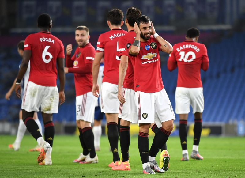 Bruno Fernandes has now scored five goals in eight league appearances for Manchester United.