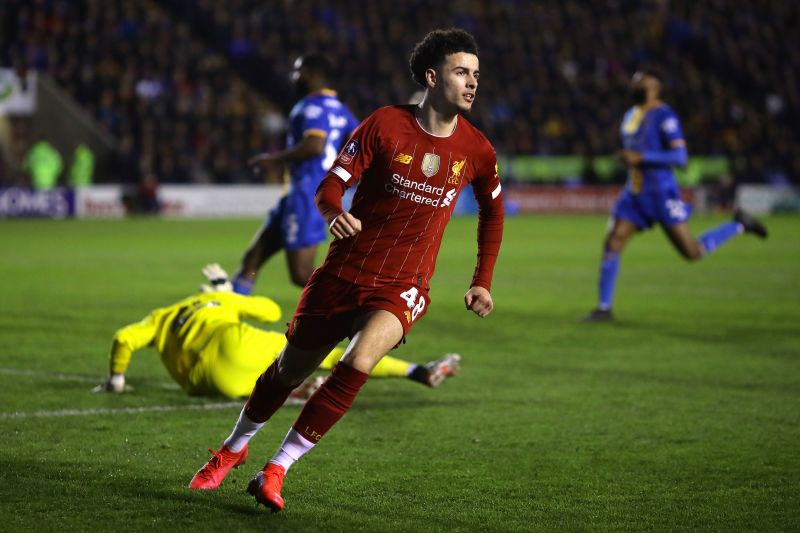 Curtis Jones recently scored his first Premier League goal in Liverpool