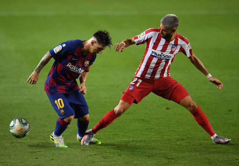 Yannick Carrasco was an electric presence on the right flank