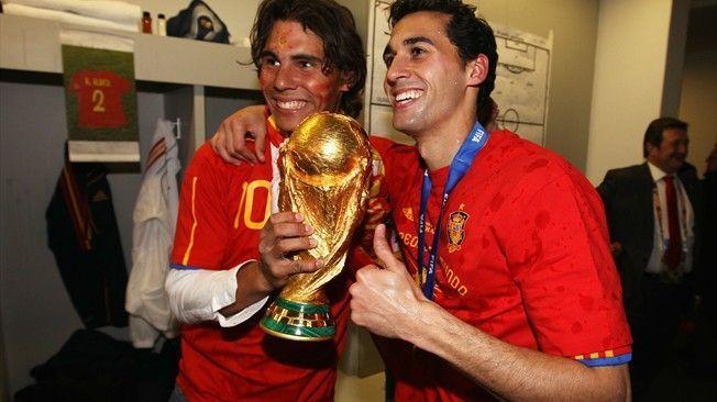 I remember the nerves' - Rafael Nadal recalls Spain's 2010 World ...
