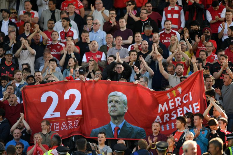 Arsene Wenger is still adored by Arsenal fans.
