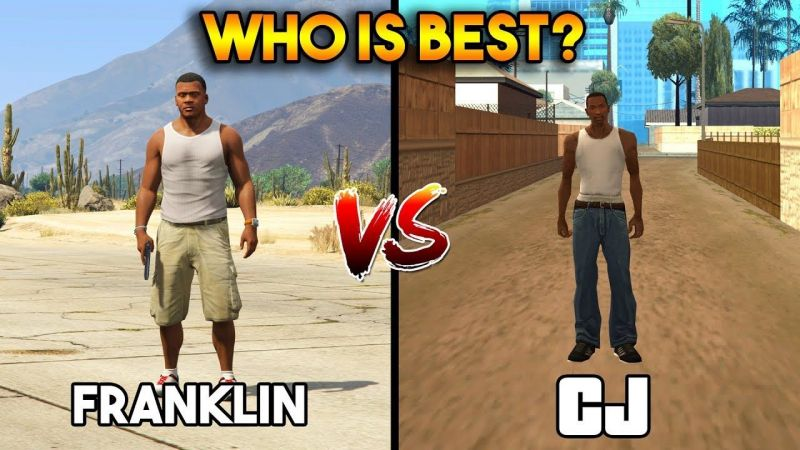 Franklin and CJ (Image: YouTube)