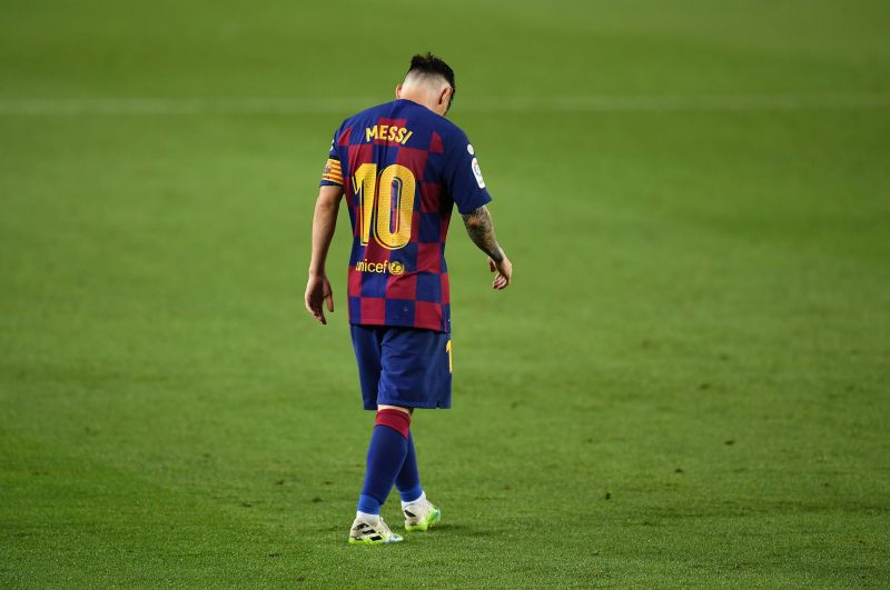 Lionel Messi cut a forlorn figure as Barcelona drew yet another fixture