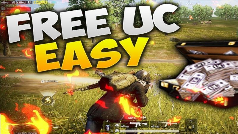 how to get uc in pubg mobile for free