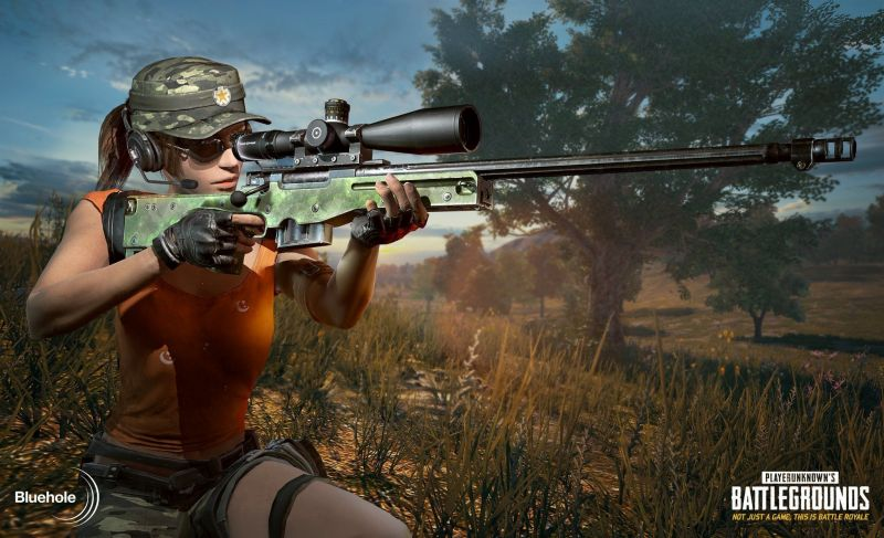 The AWM in PUBG Mobile (Image Credit: Pinterest)