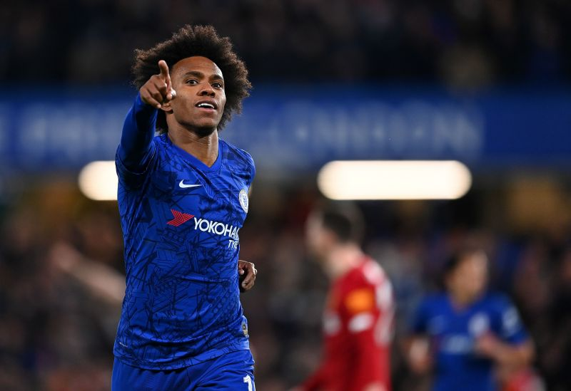 Chelsea are yet to decide if they will renew Willian