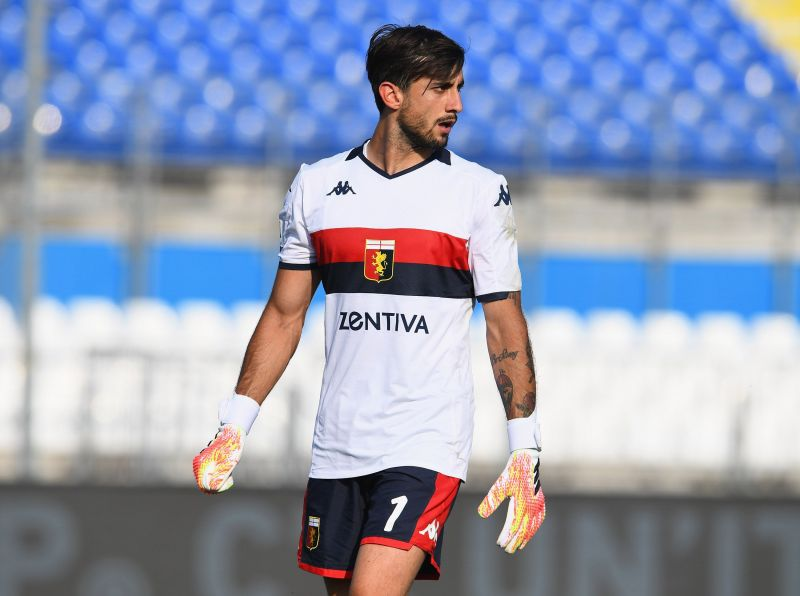 Mattia Perin conceded three goals in a short period of time against Juventus