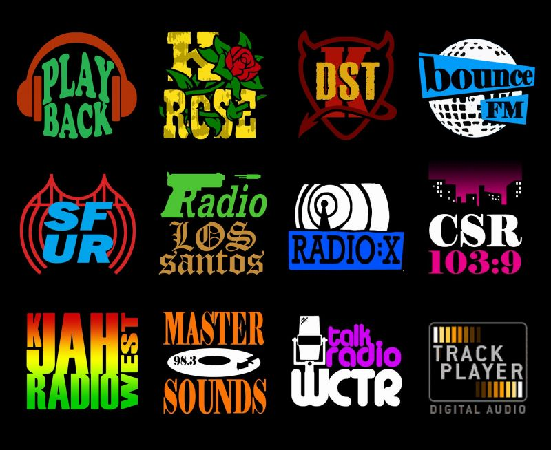 Radio stations in GTA: San Andreas (Image: GTA Wiki - Fandom)