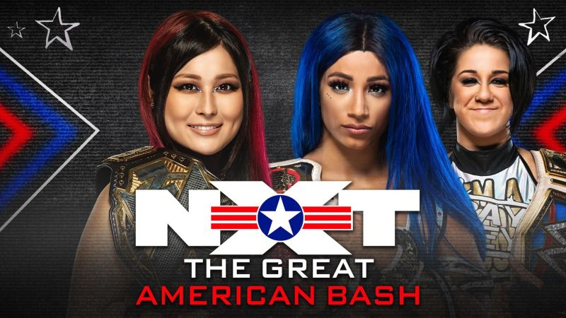 NXT The Great American Bash goes live in a few hours