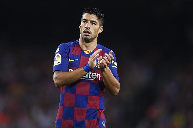 Luis Suarez struggled in the final third
