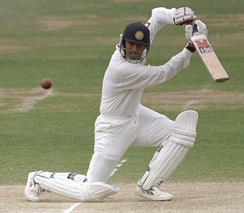Dravid drives on debut