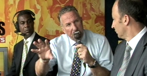 Ian Botham and Nasser Hussain (Remember Natwest 2001 final?)