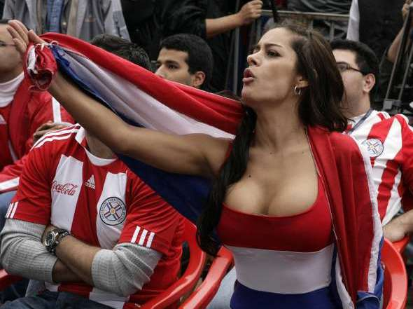 Model to streak if Paraguay win Cup