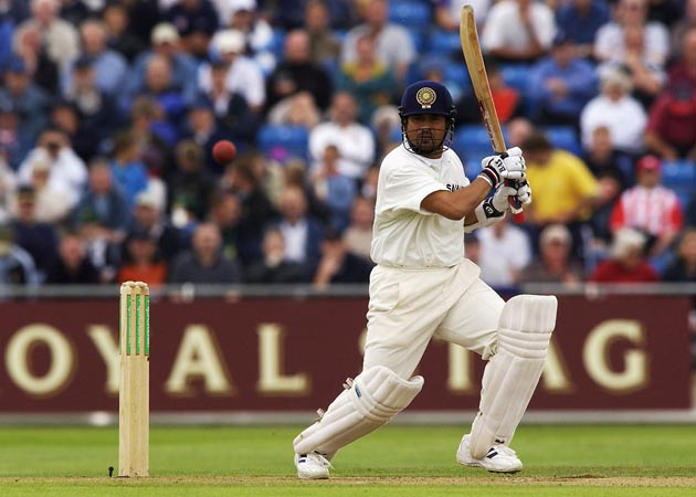 Sachin Tendulkar scored a flawless 193 at Headingley