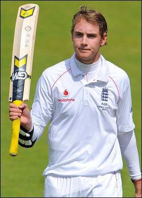 Stuart Broad made a richly deserving half-century
