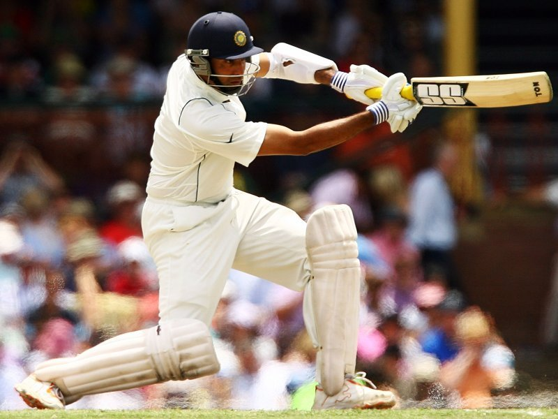 VVS LAxman relies heavily on his hand-eye coordination to dispatch the loose deliveries