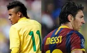 Neymar and Messi: Brightest stars