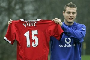 Image result for young nemanja vidic
