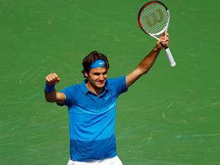 Federer wins at Indian Wells