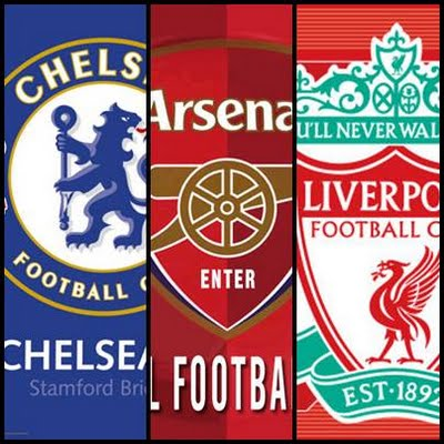 Arsenal Chelsea And Liverpool