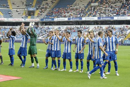 Deportivo return to spanish top flight - Spanish second division league table ...