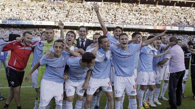 Celta return to spanish la liga after 5 years - Spanish second division league table ...