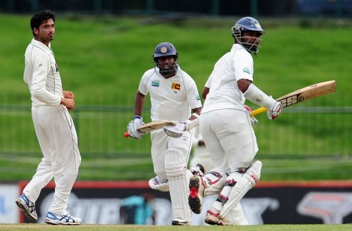 Pakistan reduced Sri Lanks to 44-3 in reply to their own modest 226 on the first day