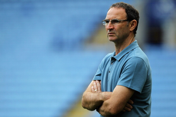LEICESTER, ENGLAND - AUGUST 11:  Martin O'Neill, manager of Sunderland looks on from the stands during the Pre Season Friendly match between Leicester City and Sunderland at The King Power Stadium on August 11, 2012 in Leicester, England.  (Photo by Matthew Lewis/Getty Images)