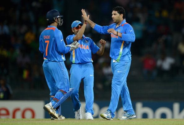 India v Afghanistan - ICC World Twenty20 2012: Group A