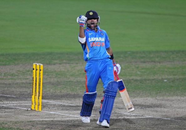India v Sri Lanka - Tri-Series Game 11