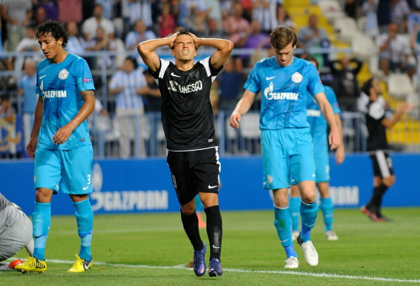 Malaga CF v FC Zenit St Petersburg - UEFA Champions League