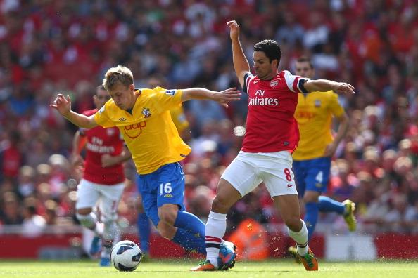 Arsenal vs Southampton - Match in pictures