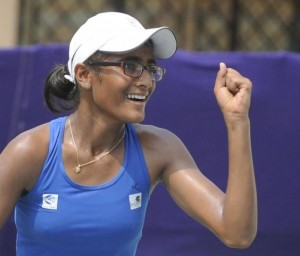 exclusive interview with india's newest tennis sensation