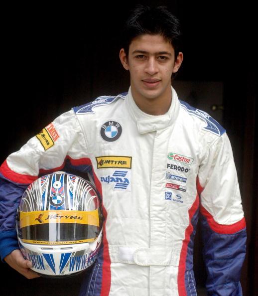 Aspiring Indian motor racing driver Akhi