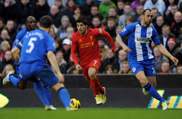 Liverpool v Wigan Athletic - Premier League