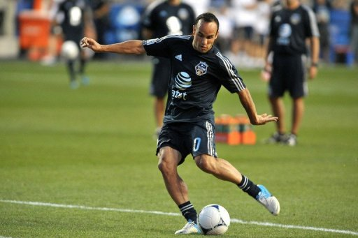 All-time US scoring leader Landon Donovan, pictured in July
